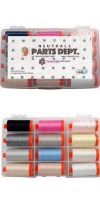 Aurifil Parts Department Collection From Victoria Findlay 12 Large Spools VF50PD12
