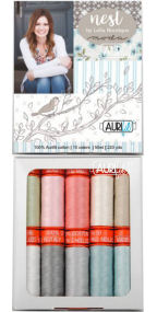 Aurifil Nest Collection From Lella Boutique 10 Small Spools VG50NC10