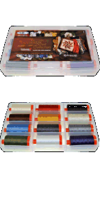 Aurifil Reclaimed West Collection 12 Large 50wt Cotton Spools By Judy Niemeyer JN50RW12
